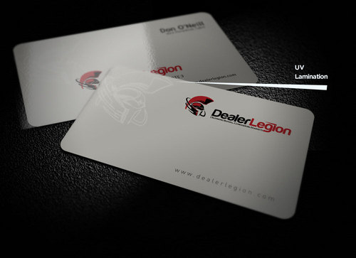 dealerlegion Business Cards and Stationery  Draft # 174 by creatoltd
