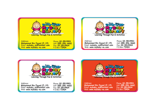 Learning throu fun & activities  Business Cards and Stationery  Draft # 268 by kcardona