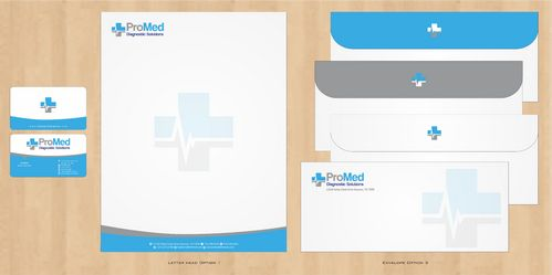 Business card, letter head, statonary envelope, fax cover sheet Business Cards and Stationery  Draft # 176 by Deck86