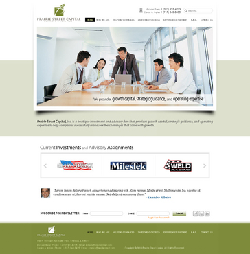 Website Complete Web Design Solution  Draft # 6 by timefortheweb