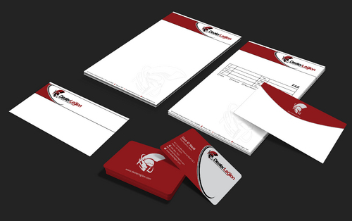 dealerlegion Business Cards and Stationery  Draft # 179 by waterdropdesign