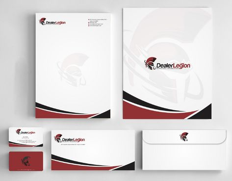 dealerlegion Business Cards and Stationery  Draft # 181 by Deck86