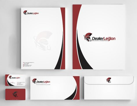 dealerlegion Business Cards and Stationery  Draft # 182 by Deck86