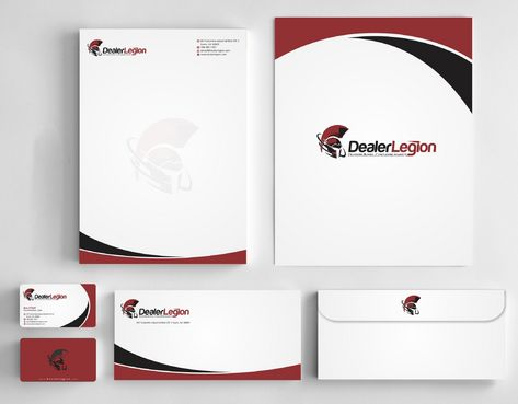 dealerlegion Business Cards and Stationery  Draft # 184 by Deck86