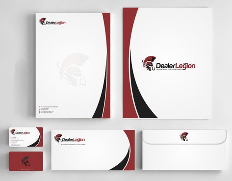 dealerlegion Business Cards and Stationery  Draft # 183 by Deck86