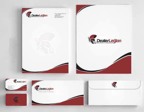 dealerlegion Business Cards and Stationery  Draft # 185 by Deck86