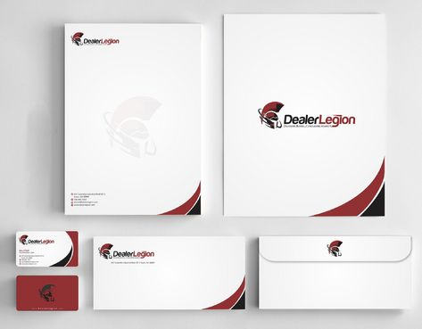 dealerlegion Business Cards and Stationery  Draft # 186 by Deck86