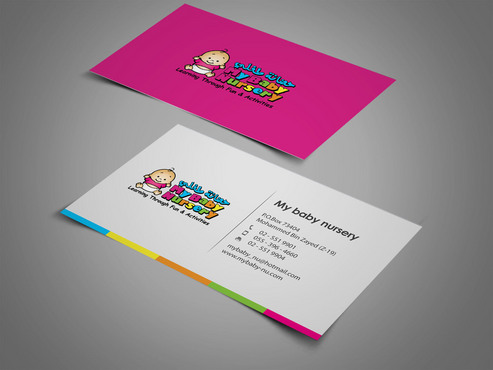 Learning throu fun & activities  Business Cards and Stationery  Draft # 374 by sugehwarastanpoutang