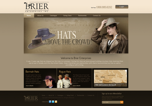 Brier Enterprises Inc