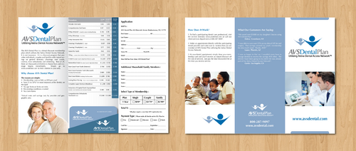 Tri-fold discount dental plan brochure Marketing collateral  Draft # 2 by gugunte