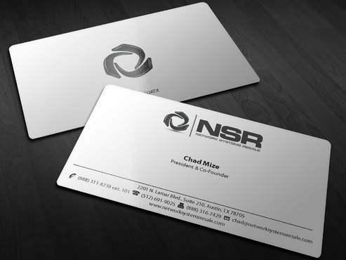 simple, straightforward card Business Cards and Stationery  Draft # 243 by Xpert