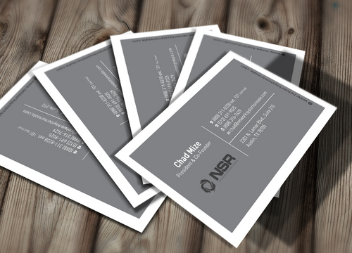 simple, straightforward card Business Cards and Stationery  Draft # 308 by creatoltd