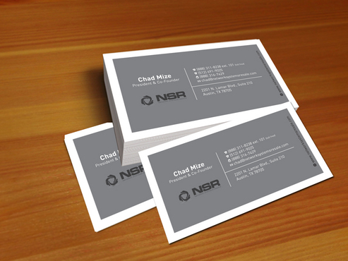 simple, straightforward card Business Cards and Stationery  Draft # 309 by creatoltd