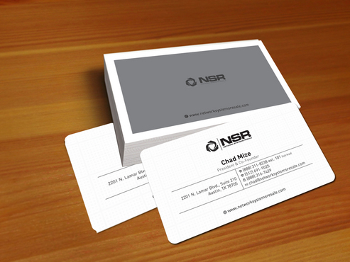 simple, straightforward card Business Cards and Stationery  Draft # 310 by creatoltd