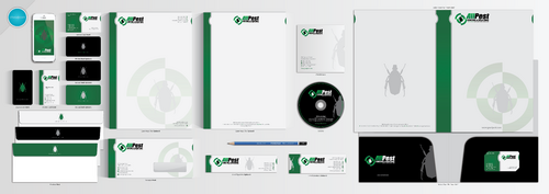 Business Cards, Letterhead, Envelopes, Folder, MemoPad, and E-Mail Signature