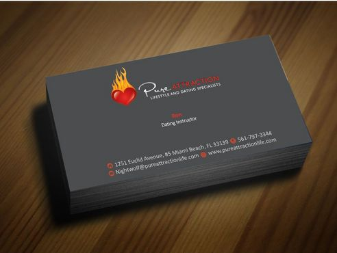 business cards dating