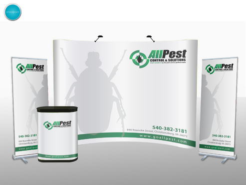 TradeShow Banner Graphics Marketing collateral Winning Design by aheadpoint