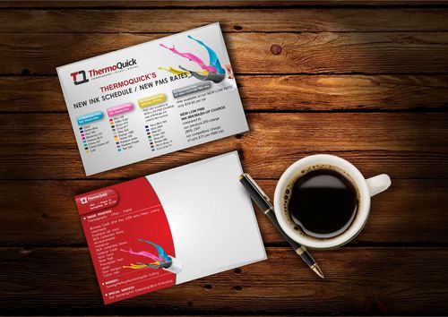 ThermoQuick, Inc. New Ink Schedules / New PMS Rates