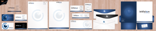 Business card, Letterhead and Envenlope
