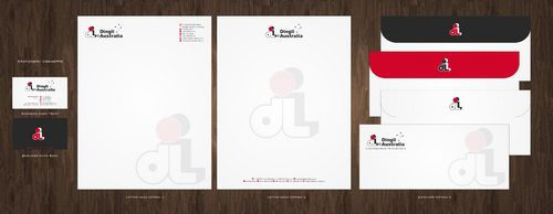 Dingli Australia Pty Ltd Business Cards and Stationery  Draft # 156 by Deck86
