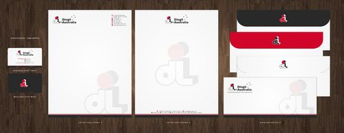 Dingli Australia Pty Ltd Business Cards and Stationery  Draft # 157 by Deck86