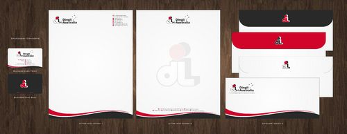 Dingli Australia Pty Ltd Business Cards and Stationery  Draft # 159 by Deck86