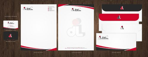 Dingli Australia Pty Ltd Business Cards and Stationery  Draft # 161 by Deck86