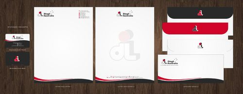 Dingli Australia Pty Ltd Business Cards and Stationery  Draft # 163 by Deck86