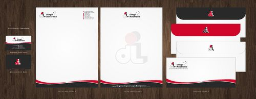 Dingli Australia Pty Ltd Business Cards and Stationery  Draft # 164 by Deck86