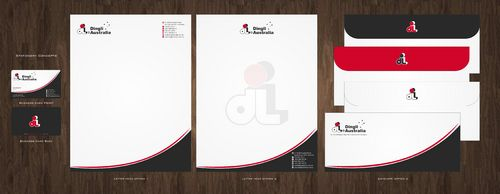 Dingli Australia Pty Ltd Business Cards and Stationery  Draft # 165 by Deck86