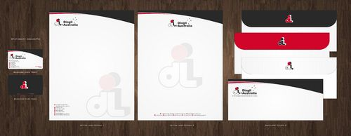 Dingli Australia Pty Ltd Business Cards and Stationery  Draft # 166 by Deck86