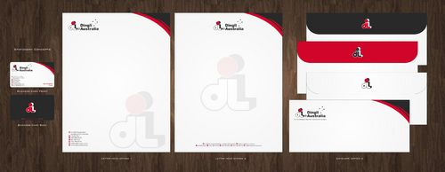 Dingli Australia Pty Ltd Business Cards and Stationery  Draft # 168 by Deck86