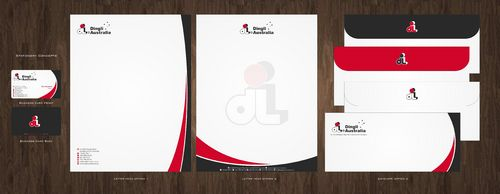 Dingli Australia Pty Ltd Business Cards and Stationery  Draft # 170 by Deck86