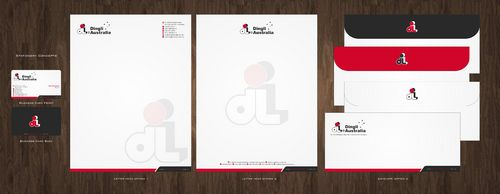 Dingli Australia Pty Ltd Business Cards and Stationery  Draft # 171 by Deck86