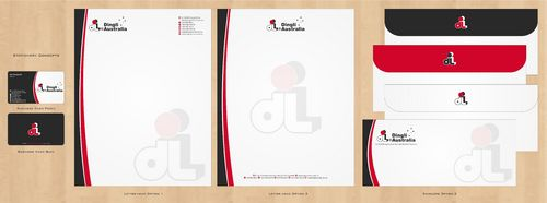 Dingli Australia Pty Ltd Business Cards and Stationery  Draft # 173 by Deck86