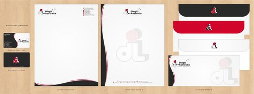 Dingli Australia Pty Ltd Business Cards and Stationery  Draft # 174 by Deck86