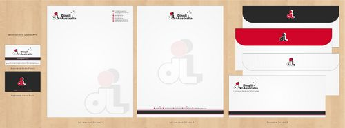 Dingli Australia Pty Ltd Business Cards and Stationery  Draft # 176 by Deck86
