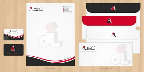 Dingli Australia Pty Ltd Business Cards and Stationery  Draft # 180 by Deck86