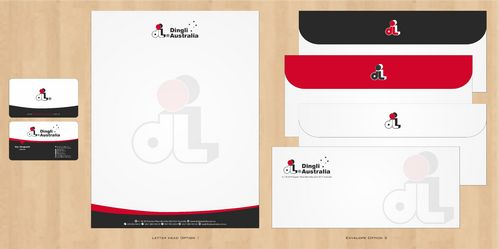 Dingli Australia Pty Ltd Business Cards and Stationery  Draft # 182 by Deck86