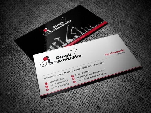 Dingli Australia Pty Ltd Business Cards and Stationery  Draft # 184 by jameelbukhari