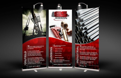 10' x 8' 3-Section Banners