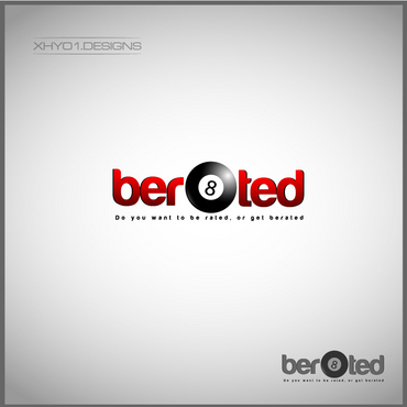 ber8ted (company name) A Logo, Monogram, or Icon  Draft # 2 by xhyo1