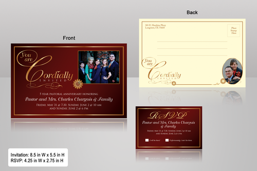 double sided design Marketing collateral  Draft # 24 by monski