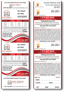 Royal Parking ticket & List Assist Realty AD
