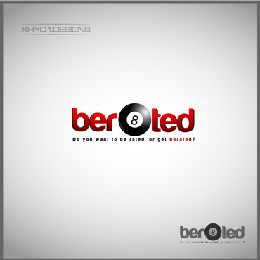 ber8ted (company name) A Logo, Monogram, or Icon  Draft # 12 by xhyo1