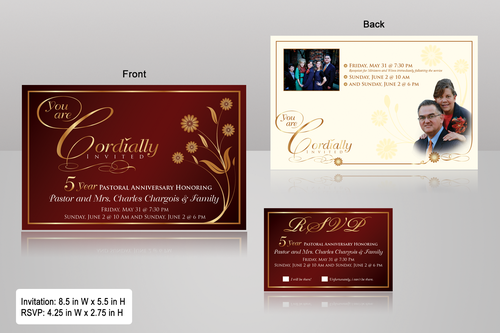 double sided design Marketing collateral  Draft # 26 by monski