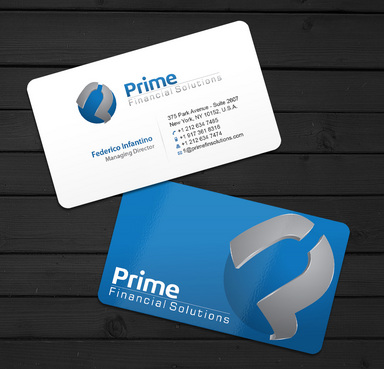 Prime Financial Solutions Business Cards and Stationery  Draft # 3 by ArtworksKingdom