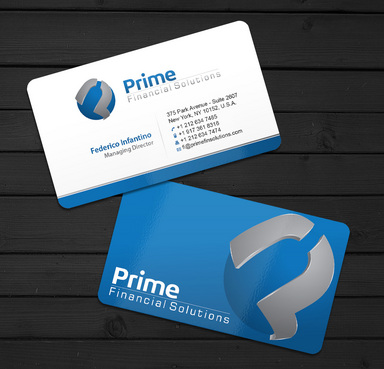 Prime Financial Solutions Business Cards and Stationery  Draft # 8 by ArtworksKingdom
