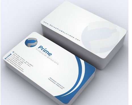 Prime Financial Solutions Business Cards and Stationery  Draft # 172 by Deck86