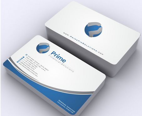 Prime Financial Solutions Business Cards and Stationery  Draft # 176 by Deck86